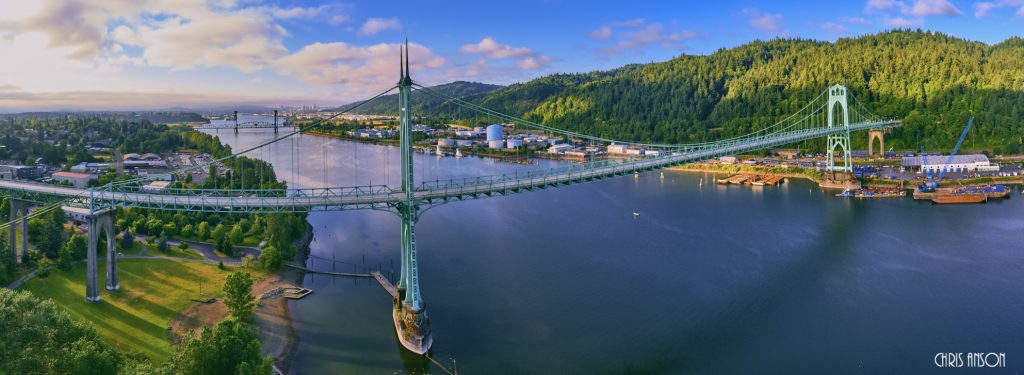 St Johns Bridge 2017 Pano-2