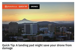 Quick Tip - A landing pad might save your drone from damage
