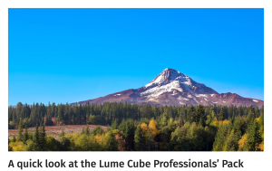 A quick look at the Lume Cube Professionals' Pack