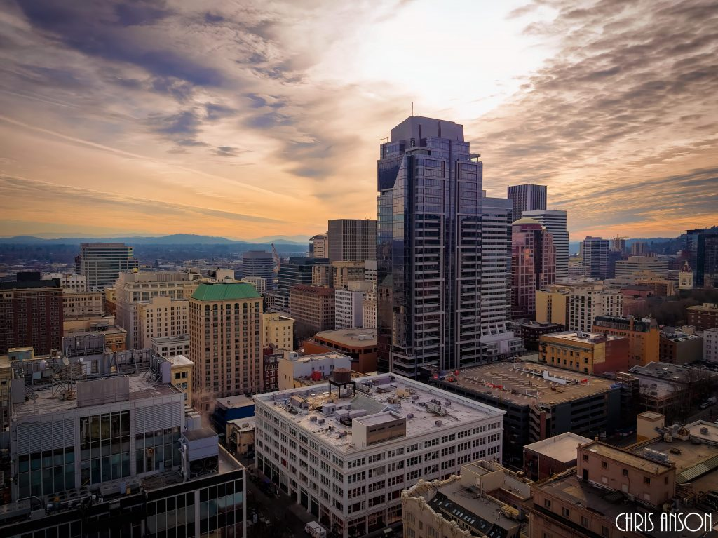 CO-Amazing sky in the middle of downtown Portland Oregon on a winter day-Photo 1 - DJI_0008-1-2