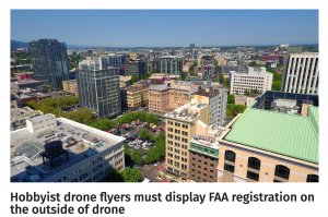 Hobbyist drone flyers must display FAA registration on the outside of drone